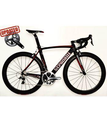 Stradalli Aversa Full Carbon Aero Road Bicycle Shimano Dura Ace 9100 11 Speed Carbon Fiber 50mm Wheelset.