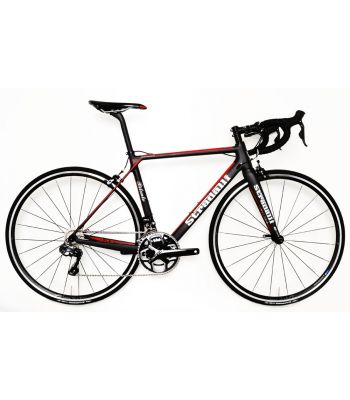 Stradalli Bitonto Lightweight Climbing Full Carbon Road Bike. Shimano Ultegra 8050 Di2 11 Speed. Vision T25 Wheelset.