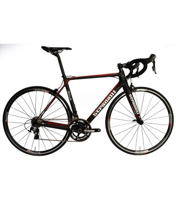 Stradalli Bitonto Lightweight Climbing Full Carbon Road Bike. Shimano Ultegra 8000 11 Speed. Vision T25 Wheelset.