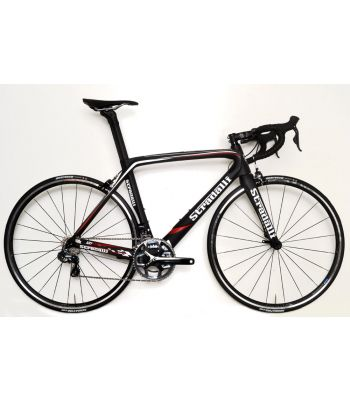 Stradalli AR7 Black Team Full Carbon Aero Road Bicycle Shimano Ultegra 8050 Di2 11 Speed. Vision T25 Clincher Wheel Set.