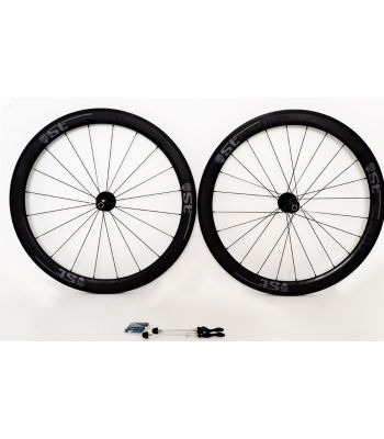 Stradalli Cycle Full Carbon 50/50 Deep Section 27mm Wide Road Tubular DT Swiss 240 Cycling Bicycle Wheelset