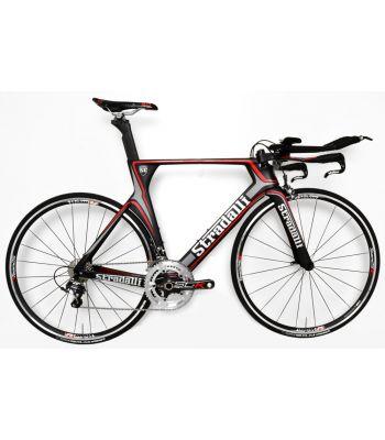 Stradalli Gray Full Carbon TT Time Trial Triathlon Bike. Shimano Ultegra 8000 11 Speed. Vision T25 Aluminum Wheelset.