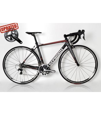 R7 Full Carbon Road Bike. Shimano Dura Ace 9100 11 Speed Stradalli 22mm Lightweight Aluminum Clinchers