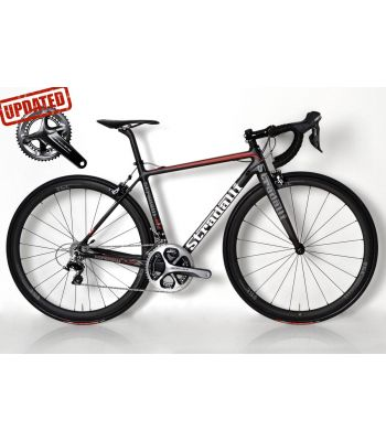 R7 Full Carbon Road Bike. Shimano Dura Ace 9100 11 Speed Stradalli 40mm x 27mm Carbon Clinchers. Prologo C150