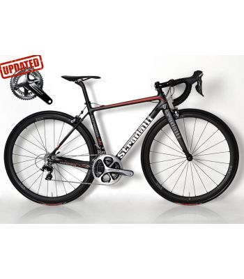 R7 Full Carbon Road Bike. Shimano Dura Ace 9100 11 Speed  Stradalli 40mm x 27mm Carbon Clinchers