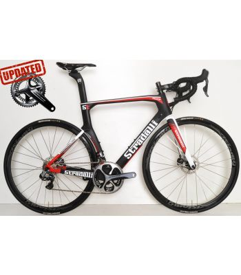 Stradalli RD17 Hydraulic Disc Brake Shimano Dura Ace 9170 Di2 11 Speed Vision Team 30 Wheelset