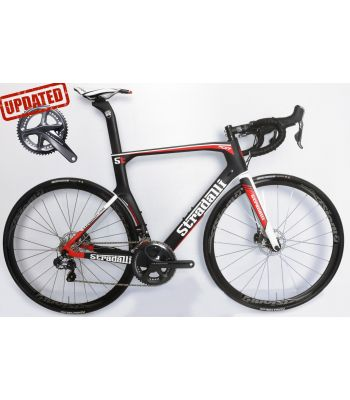 Stradalli RD17 Hydraulic Disc Brake Shimano Ultegra 8070 Di2 11 Speed Vision Team 30 Wheelset