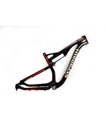 Stradalli 29er Red Edition Full Carbon Dual Suspension Cross Country XC Mountain Bike Frame