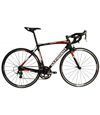 Stradalli San Remo Full Carbon Road Bike. Shimano Ultegra 6800 11 Speed. FSA Gossamer. Vision Team 25 Alloy Clincher
