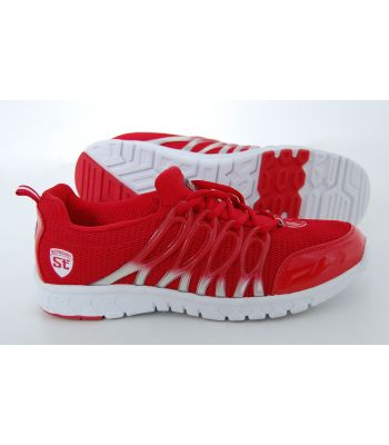 Viaggio Stradalli Cycle Red/White Running Shoes