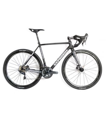Stradalli T-700 Full Carbon Gravel Cyclocross Disc Bicycle Shimano Ultegra 11 Speed Vision Wheelset Hydraulic Brakes CX