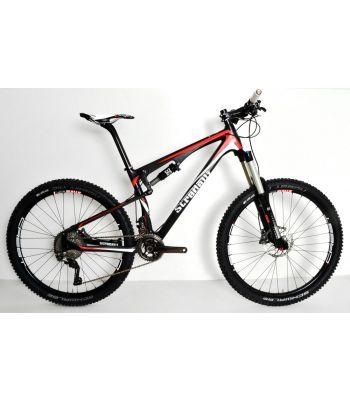 Stradalli Trail. Full Carbon Fiber Dual Suspension All Mountain Trail Bike. 27.5