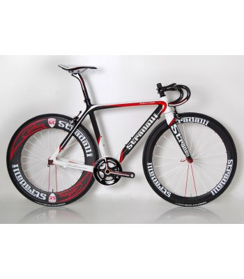 Trebisacce RED-PRO Carbon Road Bike Rolling Cahssis by Stardalli