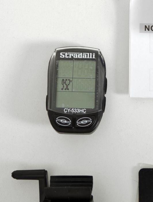 STRADALLI 33 FUNCTION WIRELESS CYCLING BIKE ROAD MTB COMPUTER HEART RATE MONITOR